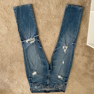 Lucky brand Brooke crop jeans